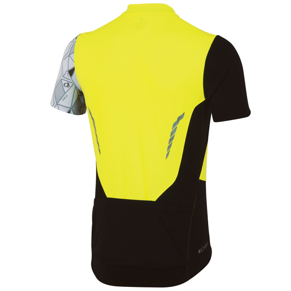 PEARL IZUMI Men's Attack Bike Jersey - SCREAMING YELLOW