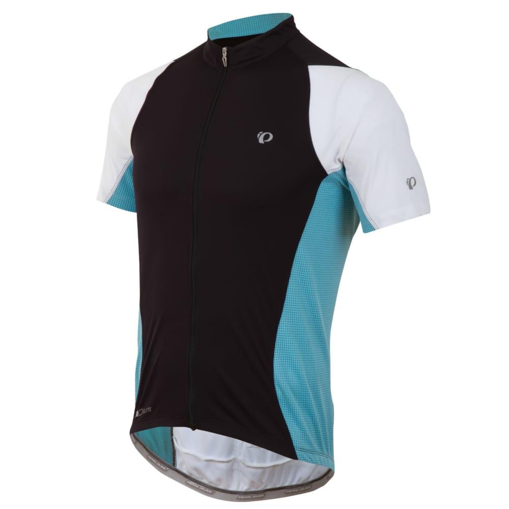 PEARL IZUMI Men's Elite Semi-Form Bike Jersey - BLACK/BLUE
