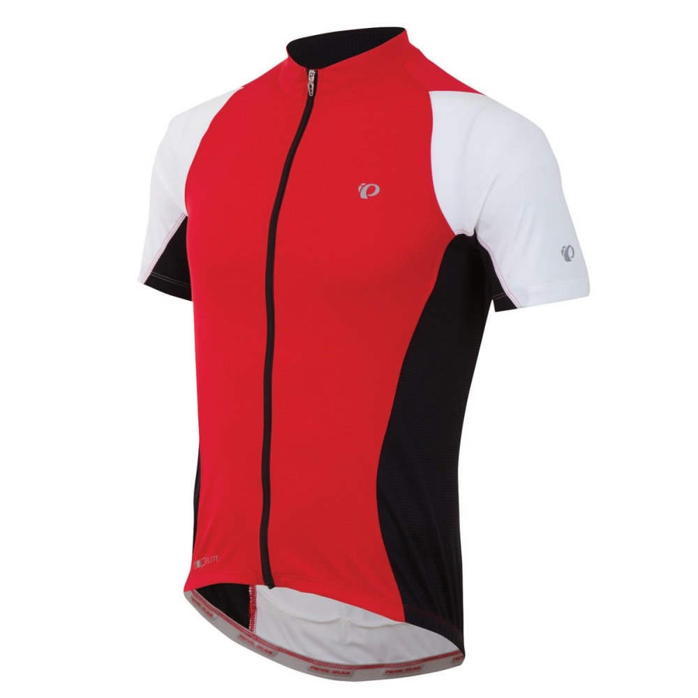 PEARL IZUMI Men's Elite Semi-Form Bike Jersey - RED
