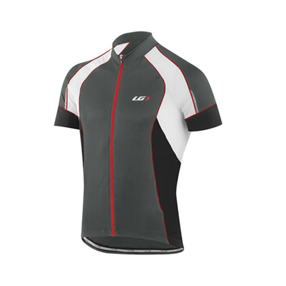 LOUIS GARNEAU Men's Lemmon Vent Bike Jersey, Grey - GREY