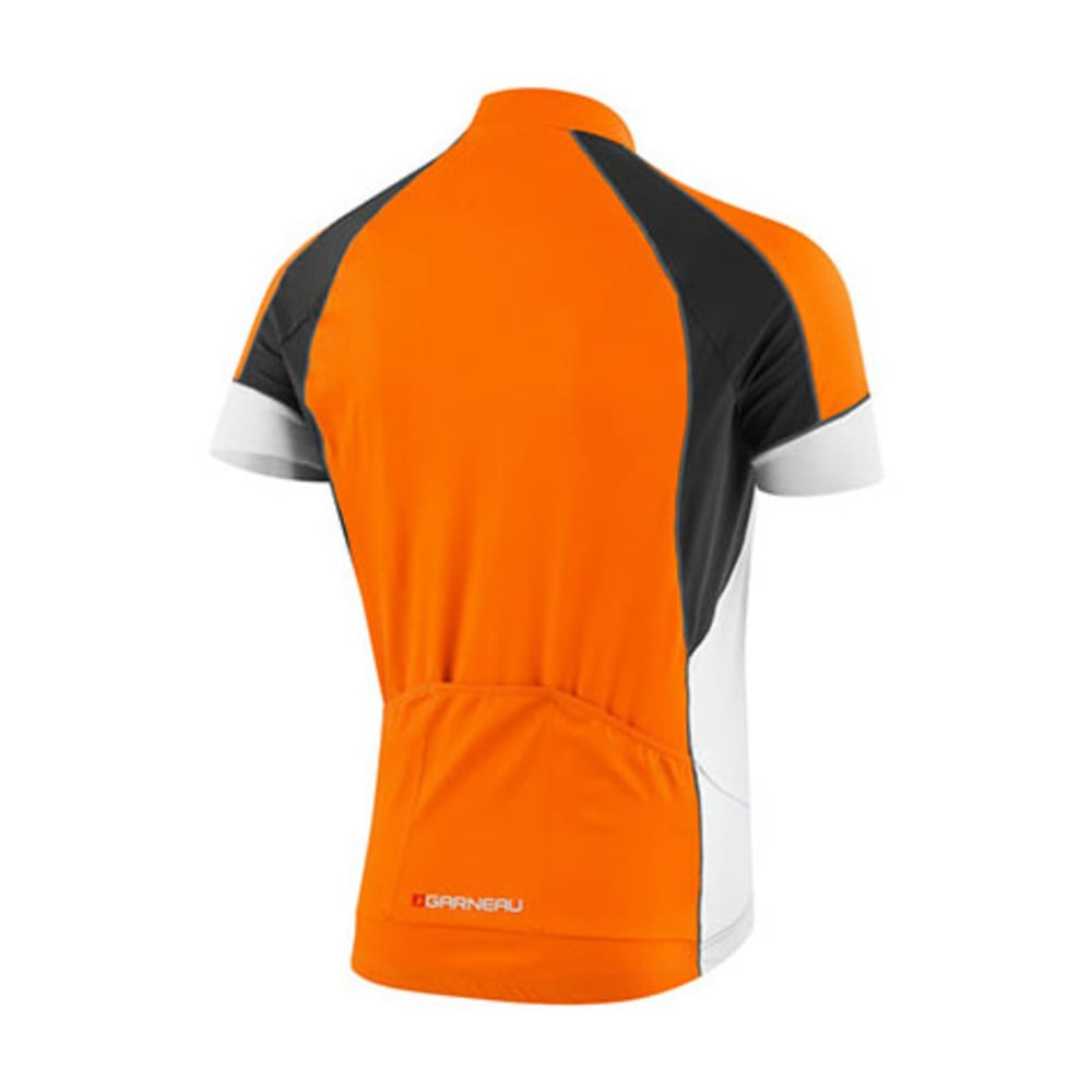 LOUIS GARNEAU Men's Lemmon Vent Bike Jersey, Orange Fluo - ORANGE
