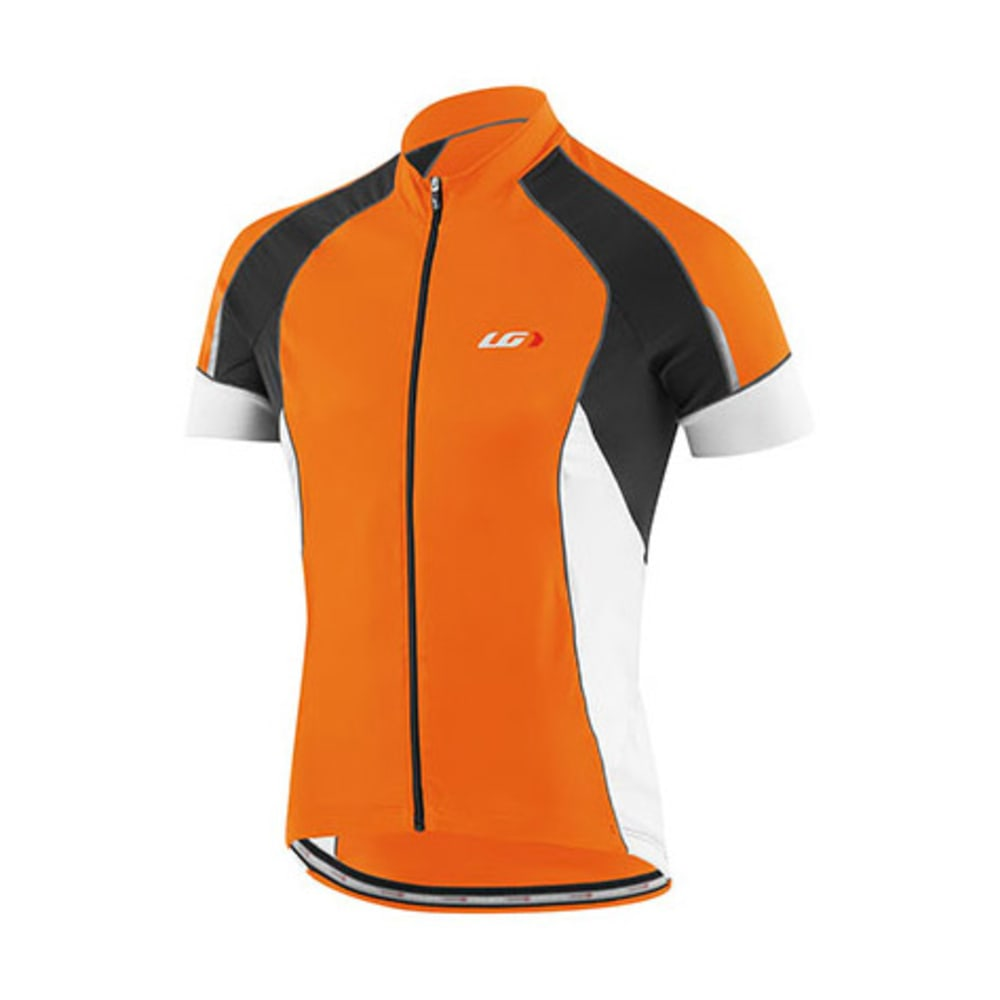 LOUIS GARNEAU Men's Lemmon Vent Bike Jersey, Orange Fluo S