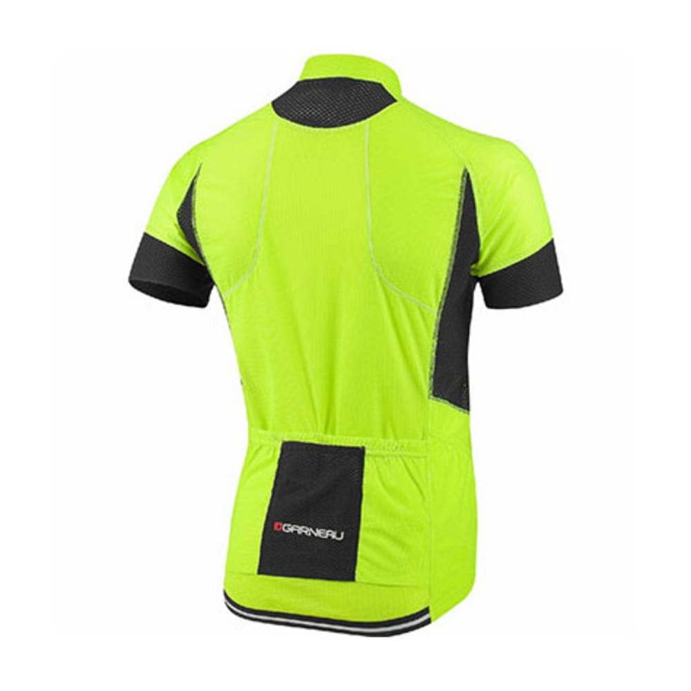 LOUIS GARNEAU Men's Evans GT Bike Jersey - BROWN YELLOW