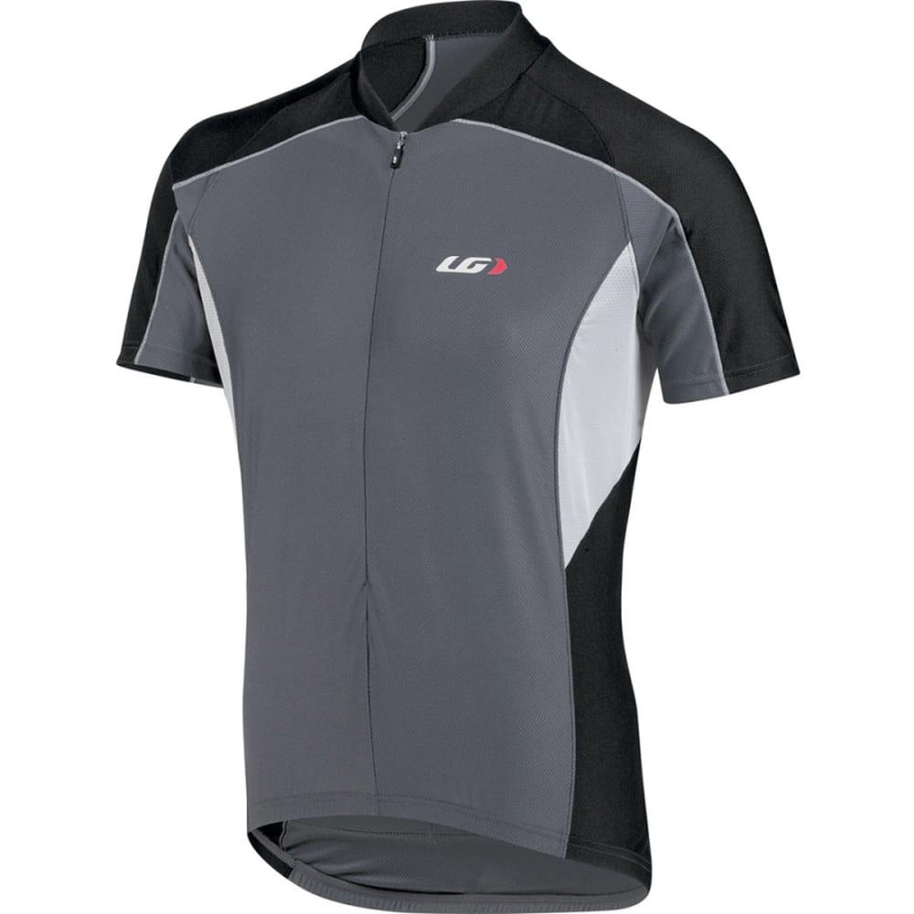 LOUIS GARNEAU Men's Mistral Vent Bike Jersey, Iron Grey - IRON GREY