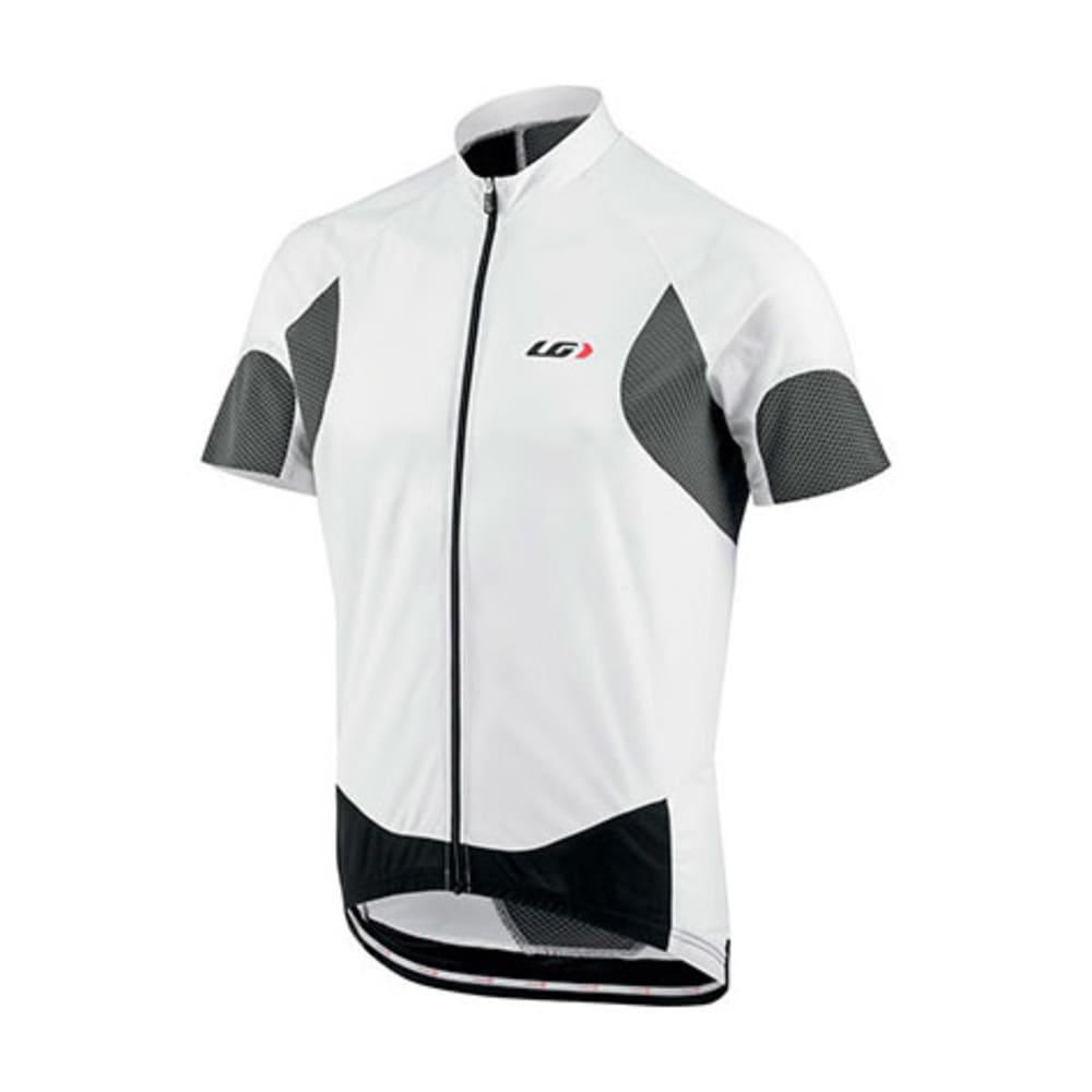 LOUIS GARNEAU Men's Metz Lite Bike Jersey, White/Iron - WHITE/IRON