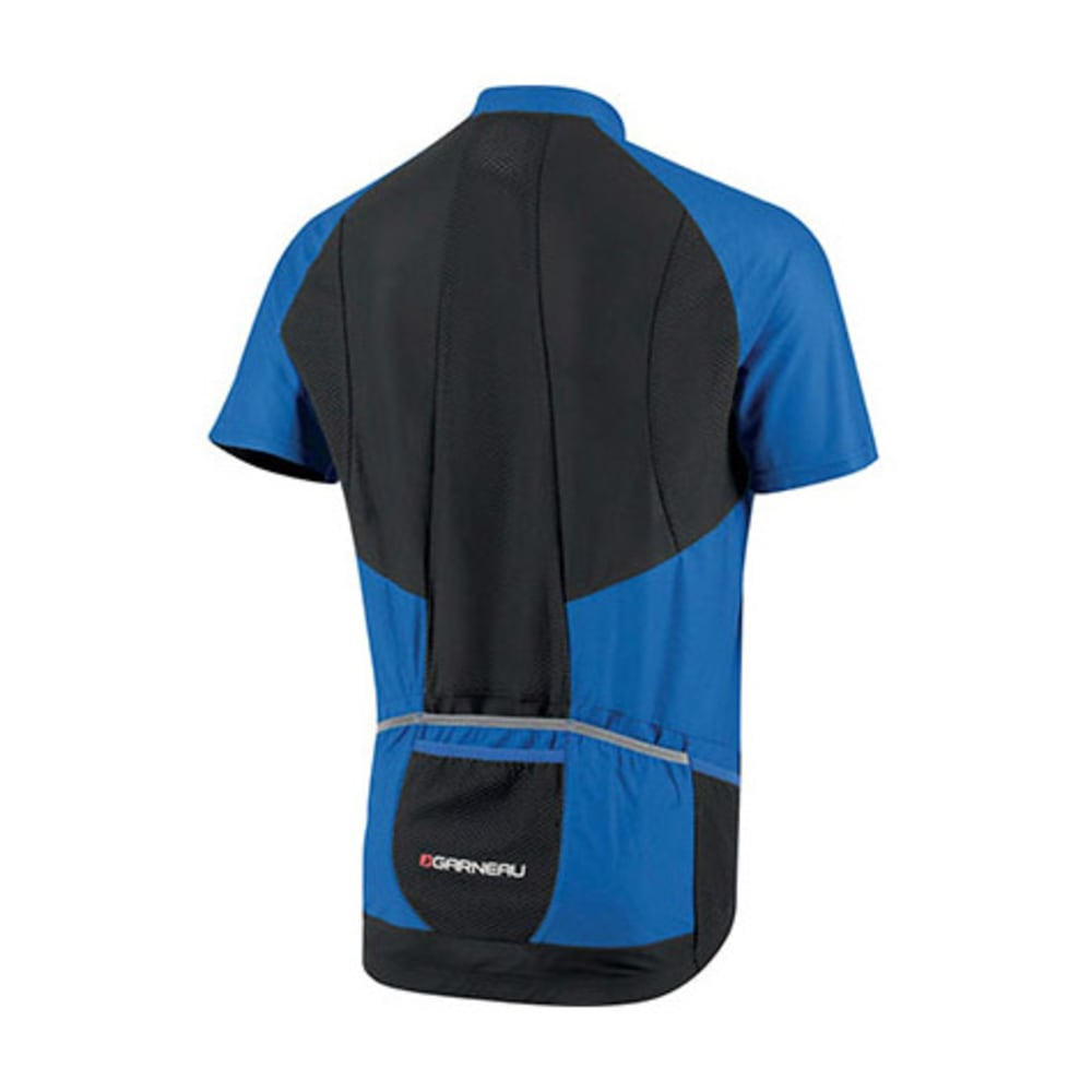 LOUIS GARNEAU Men's Metz Lite Bike Jersey, Blue - BLUE