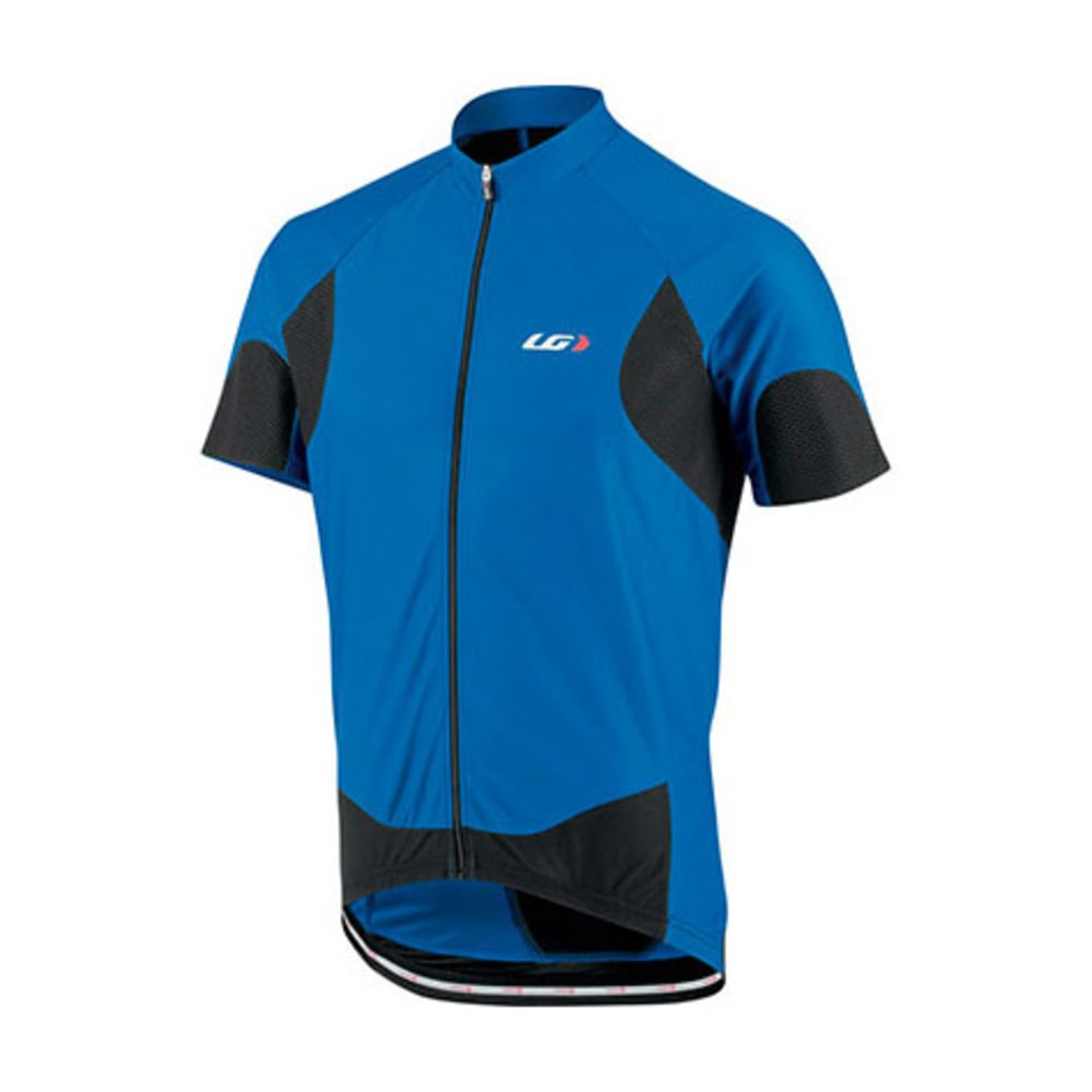 LOUIS GARNEAU Men's Metz Lite Bike Jersey, Blue S