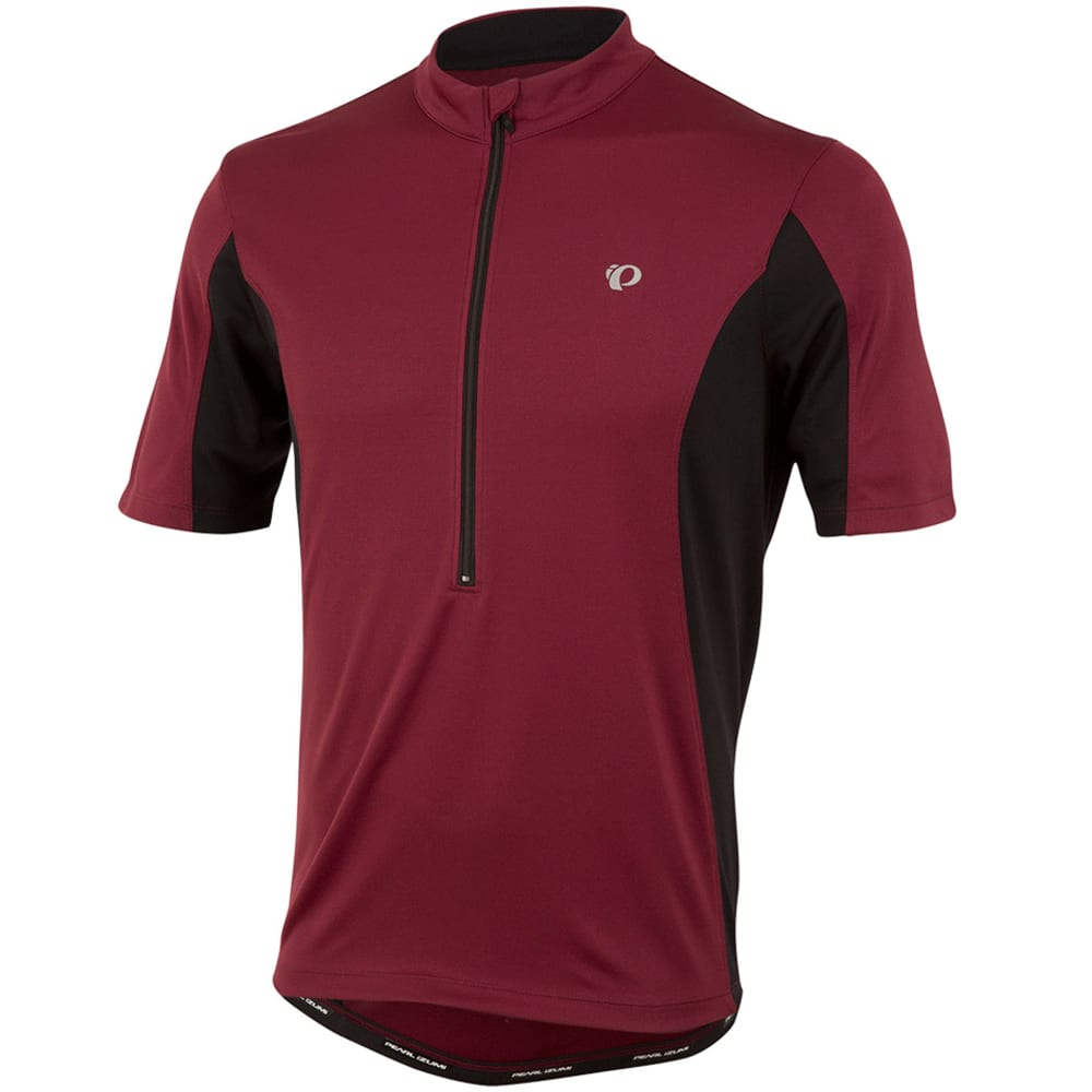 PEARL IZUMI Men's Select Tour Bike Jersey - TIBETAN RED/BLACK