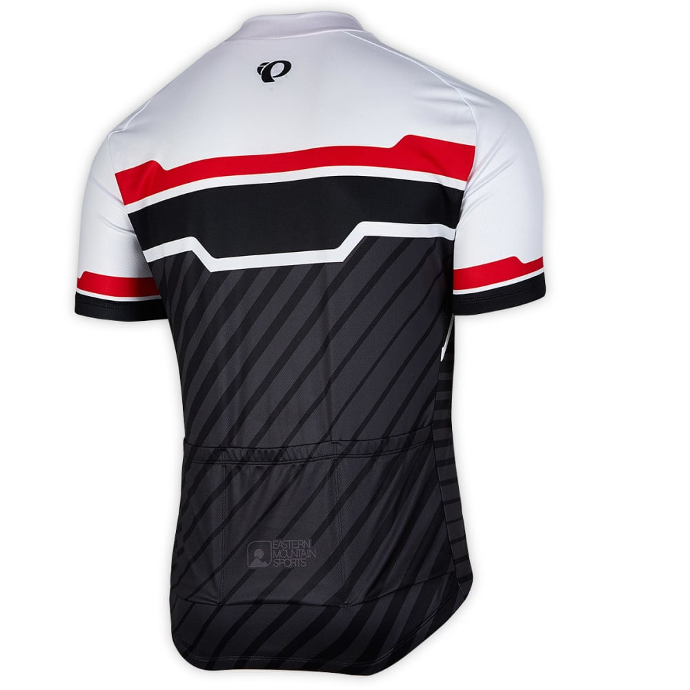 PEARL IZUMI Men's EMS Custom 1 Bike Jersey - WHITE