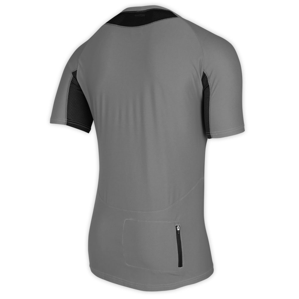 EMS® Men's Trail AR Bike Jersey, Grey/Black - GREY/BLACK
