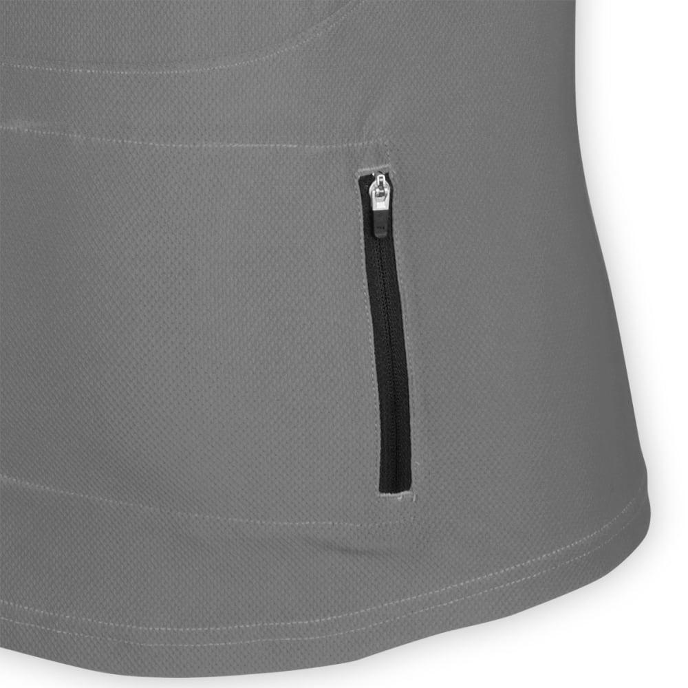 EMS® Men's Trail AR Bike Jersey, Grey/Black - GREY/BLACK