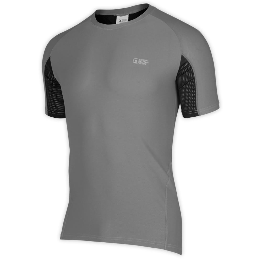 EMS Men's Trail AR Bike Jersey, Grey/Black - GREY/BLACK
