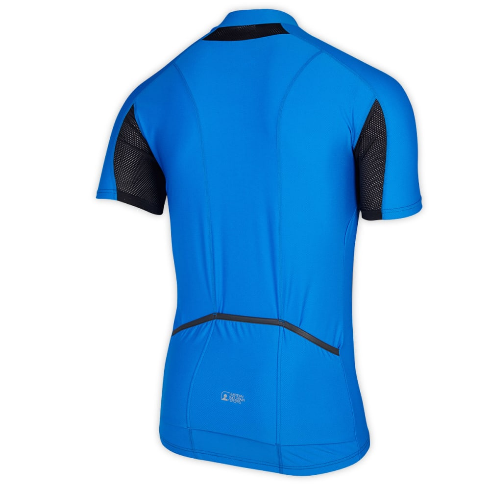 EMS Men's Velo AR Bike Jersey, Blue - BLUE
