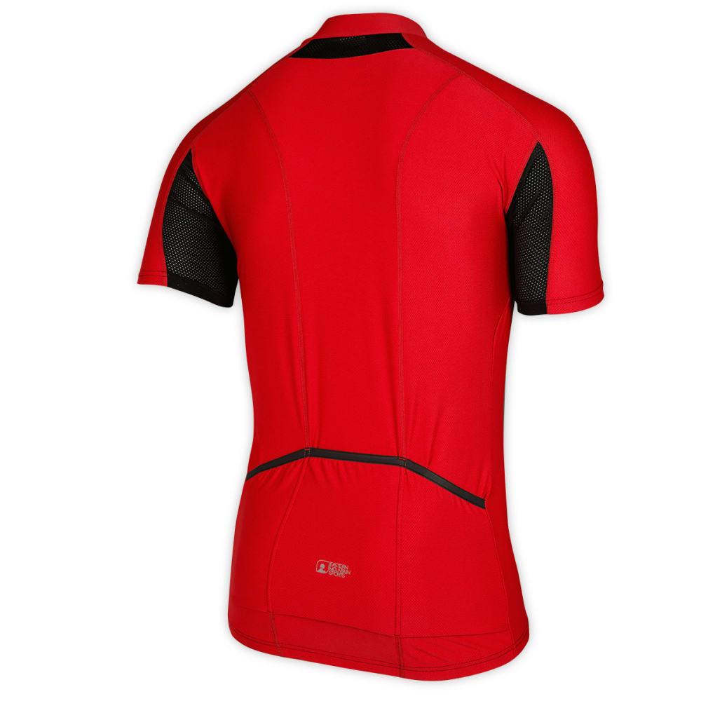 EMS Men's Velo AR Bike Jersey, Ginger/Black - GINGER/BLACK
