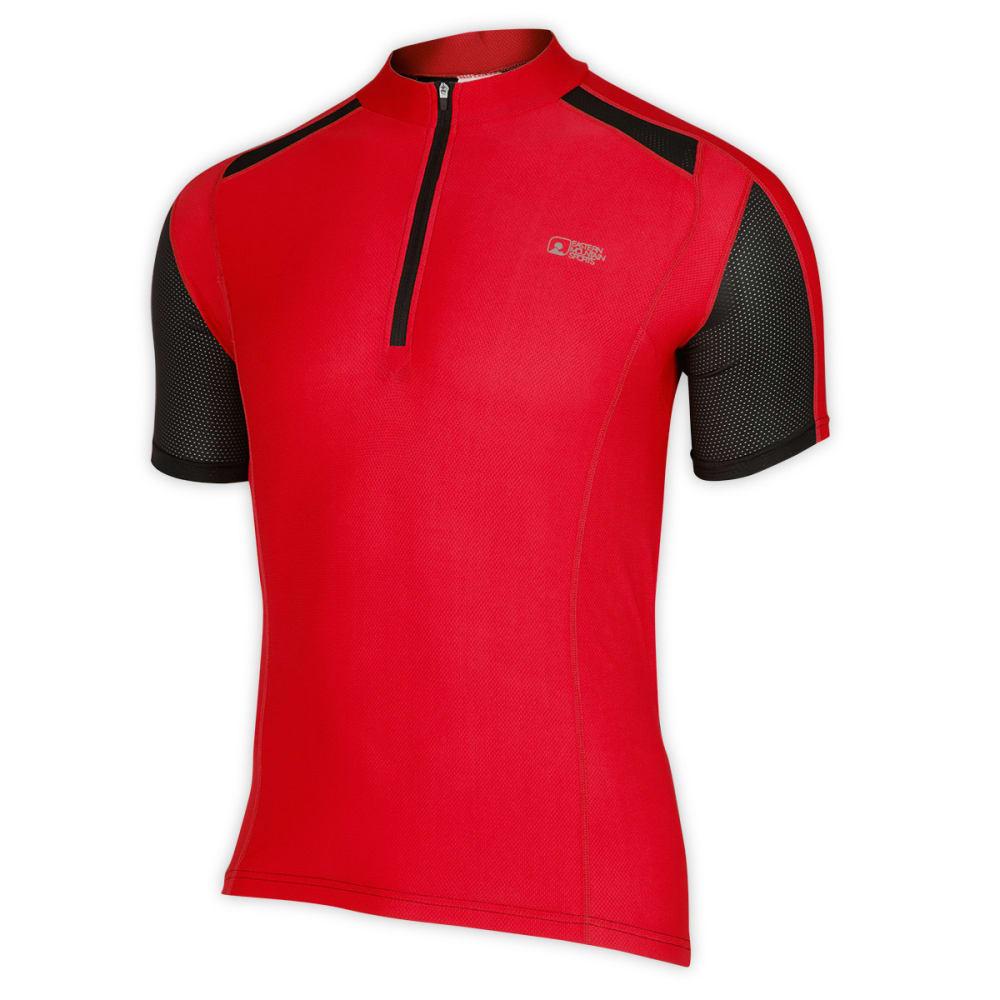 EMS® Men's Velo AR Bike Jersey, Ginger/Black - GINGER/BLACK