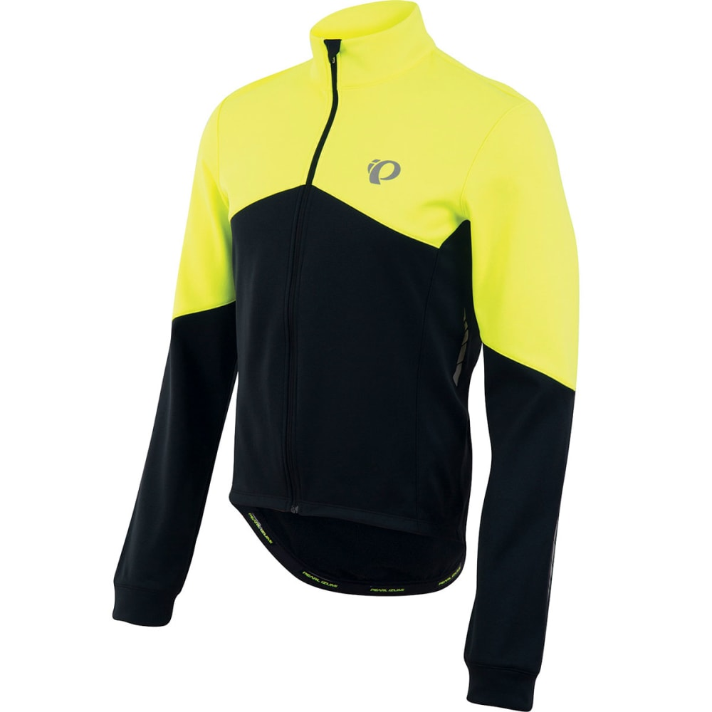 Pearl Izumi Mens Elite Thermal Long-Sleeve Jersey Shirt - Yellow 11121520