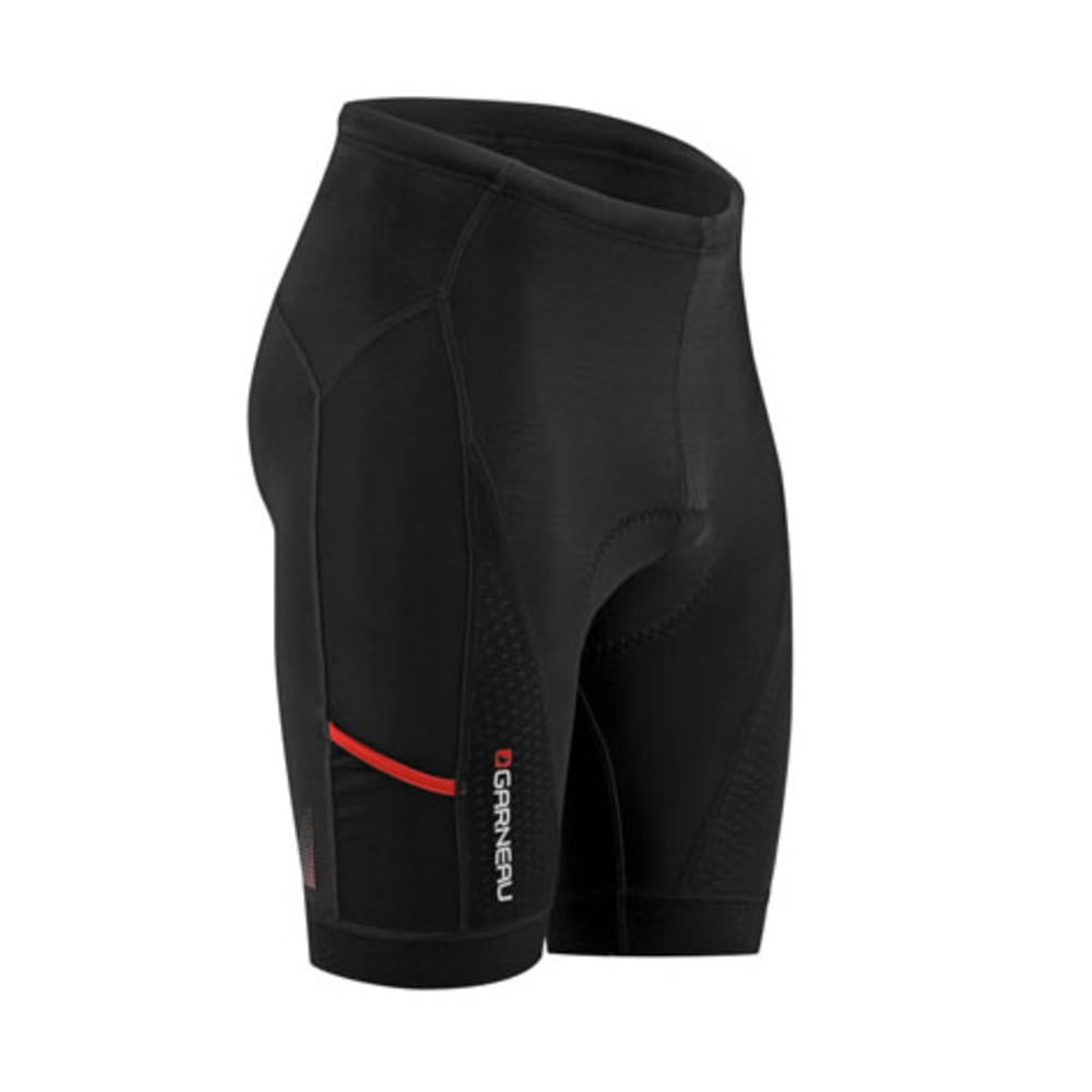 LOUIS GARNEAU Men's Perfo LT Power Bike Shorts - BLACK