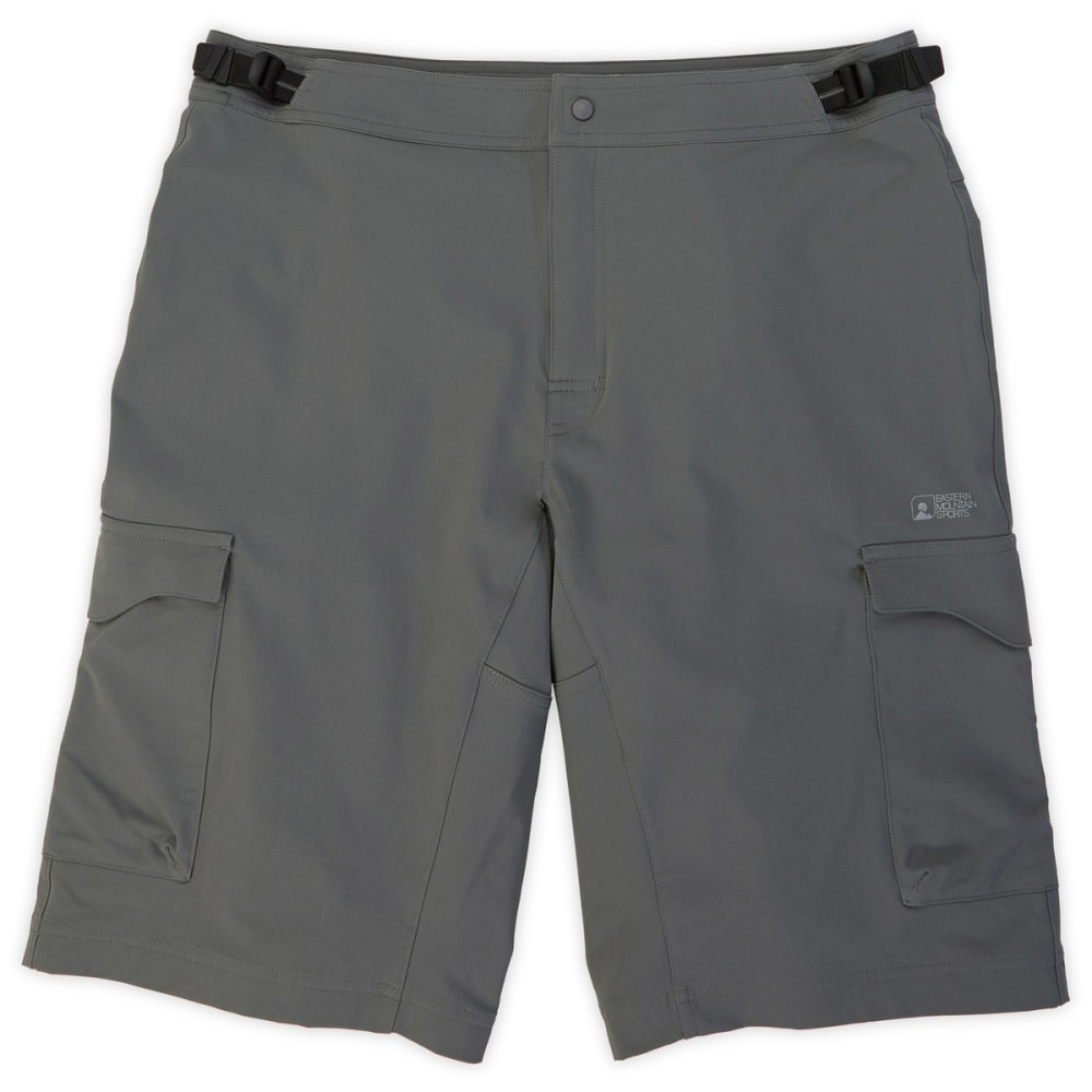 EMS Men's Transition Bike Shorts, 12 in. - CEMENT
