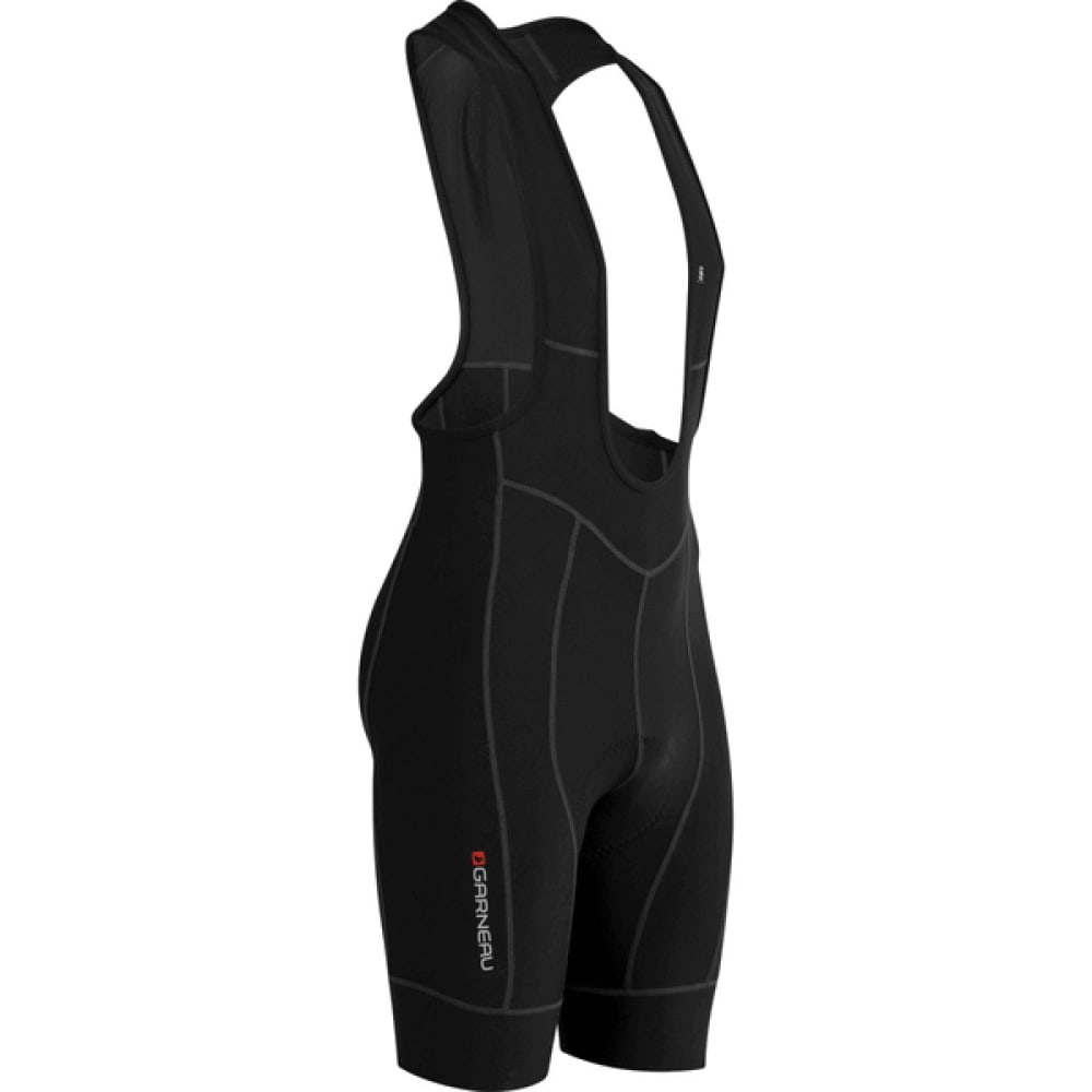 LOUIS GARNEAU Men's Fit Sensor Bib Shorts - BLACK