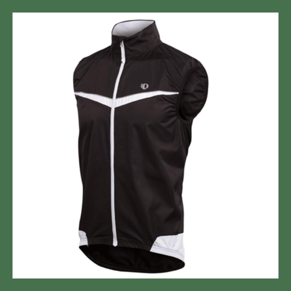 PEARL IZUMI Men's Elite Barrier Bike Vest - WHITE/BLACK
