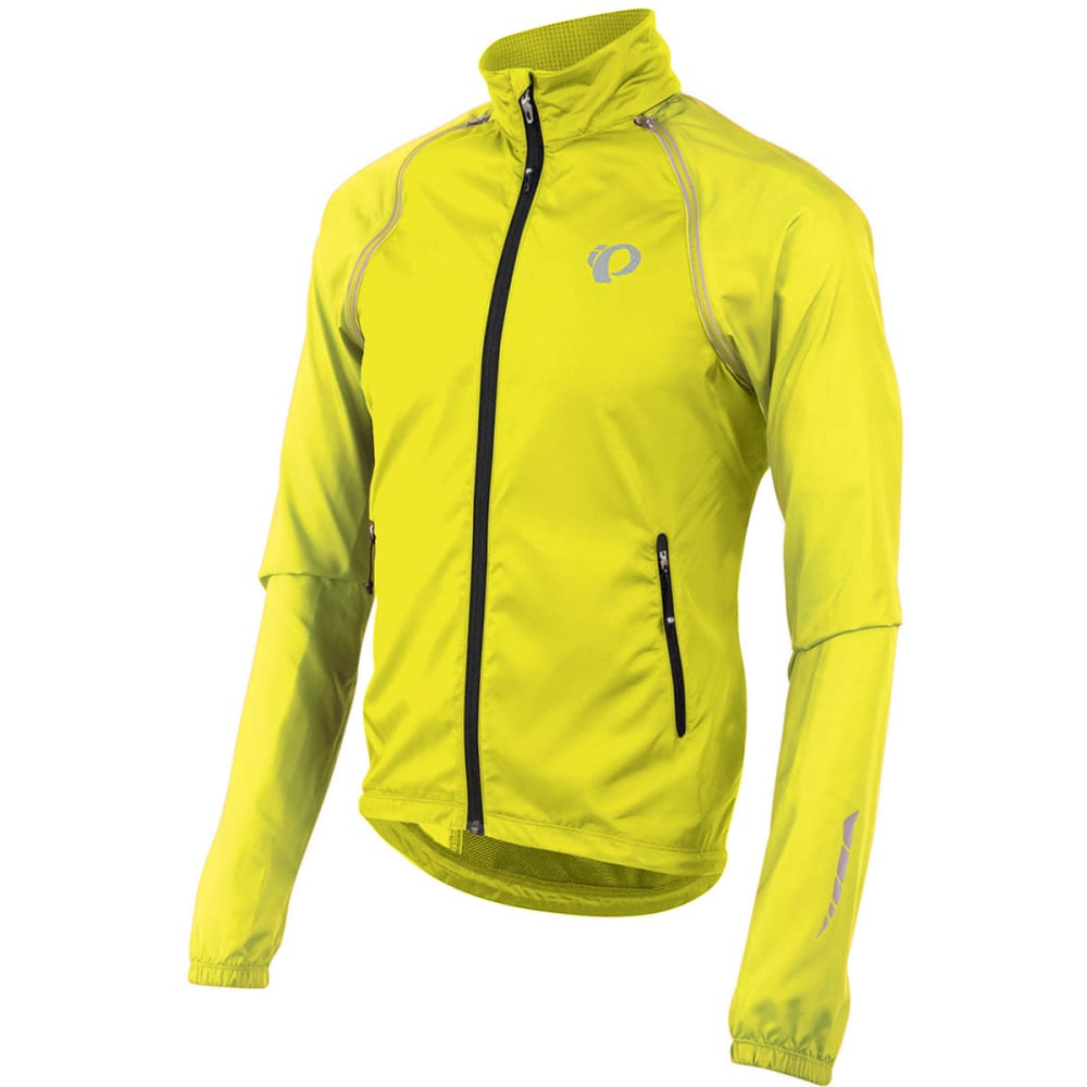 PEARL IZUMI Men's Elite Barrier Convertible Jacket - 428 SCREAMING YELLOW