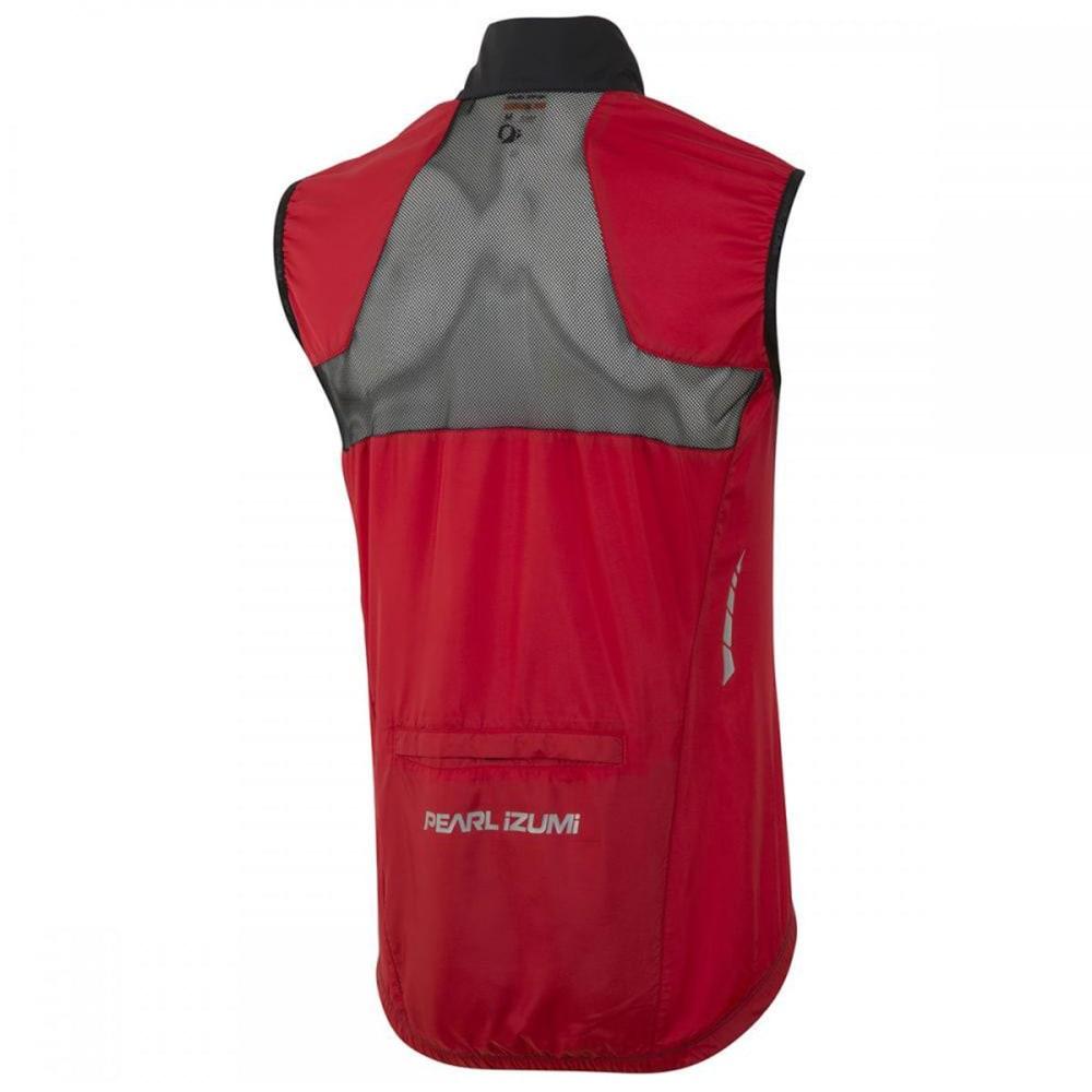 PEARL IZUMI Men's Elite Barrier Vest - TRUE RED