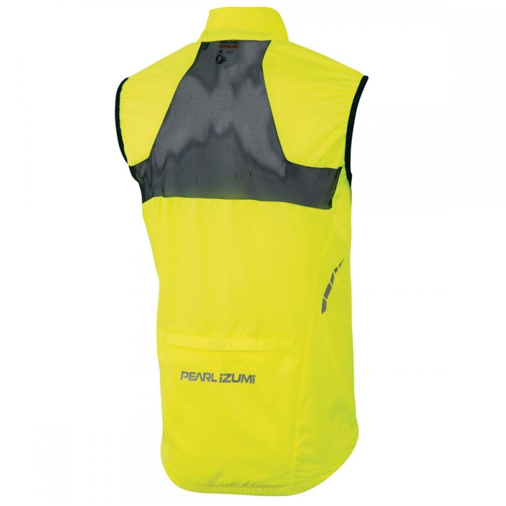 PEARL IZUMI Men's Elite Barrier Vest - SCREAMING YELLOW