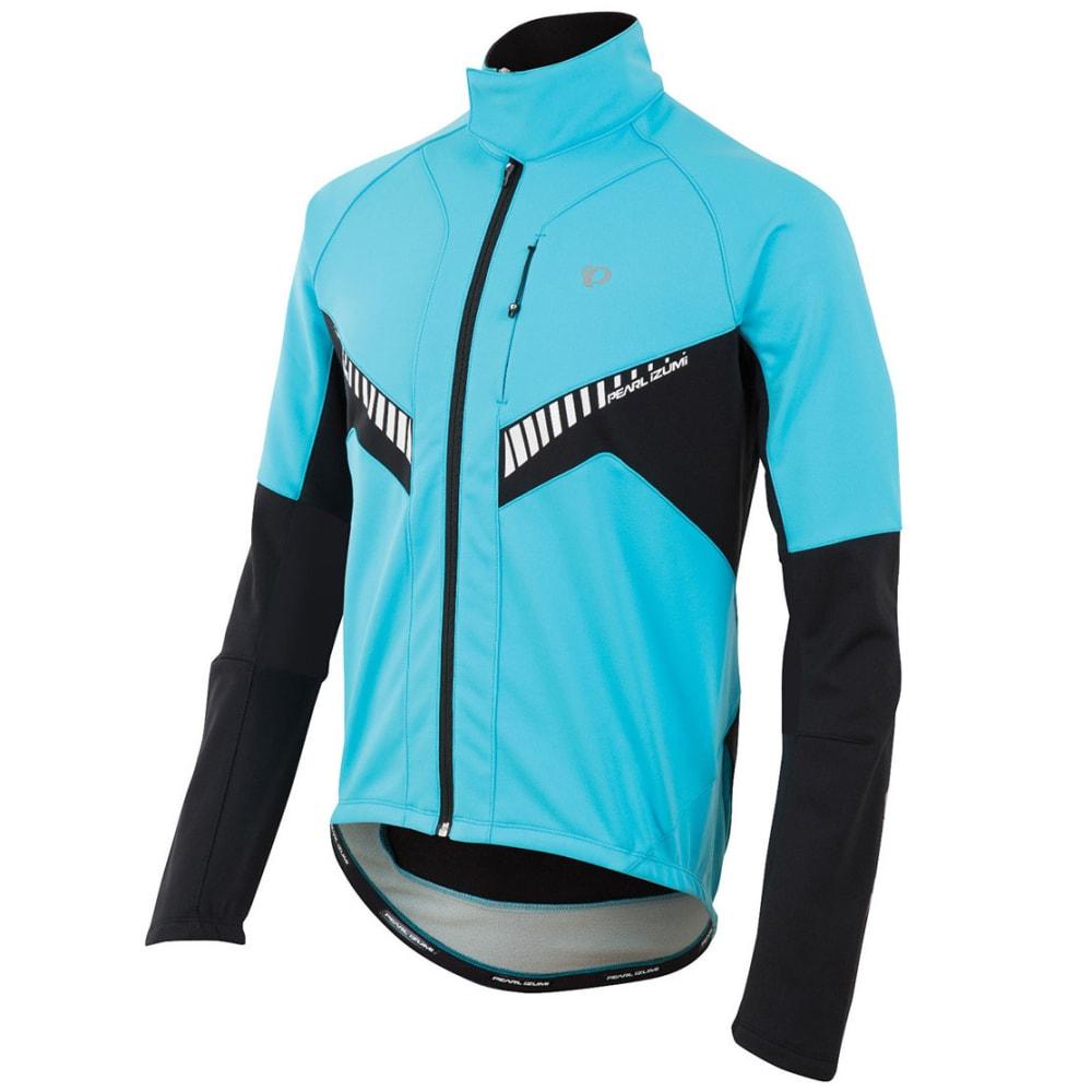 PEARL IZUMI Men's Elite Softshell Jacket - BLUE ATOLL