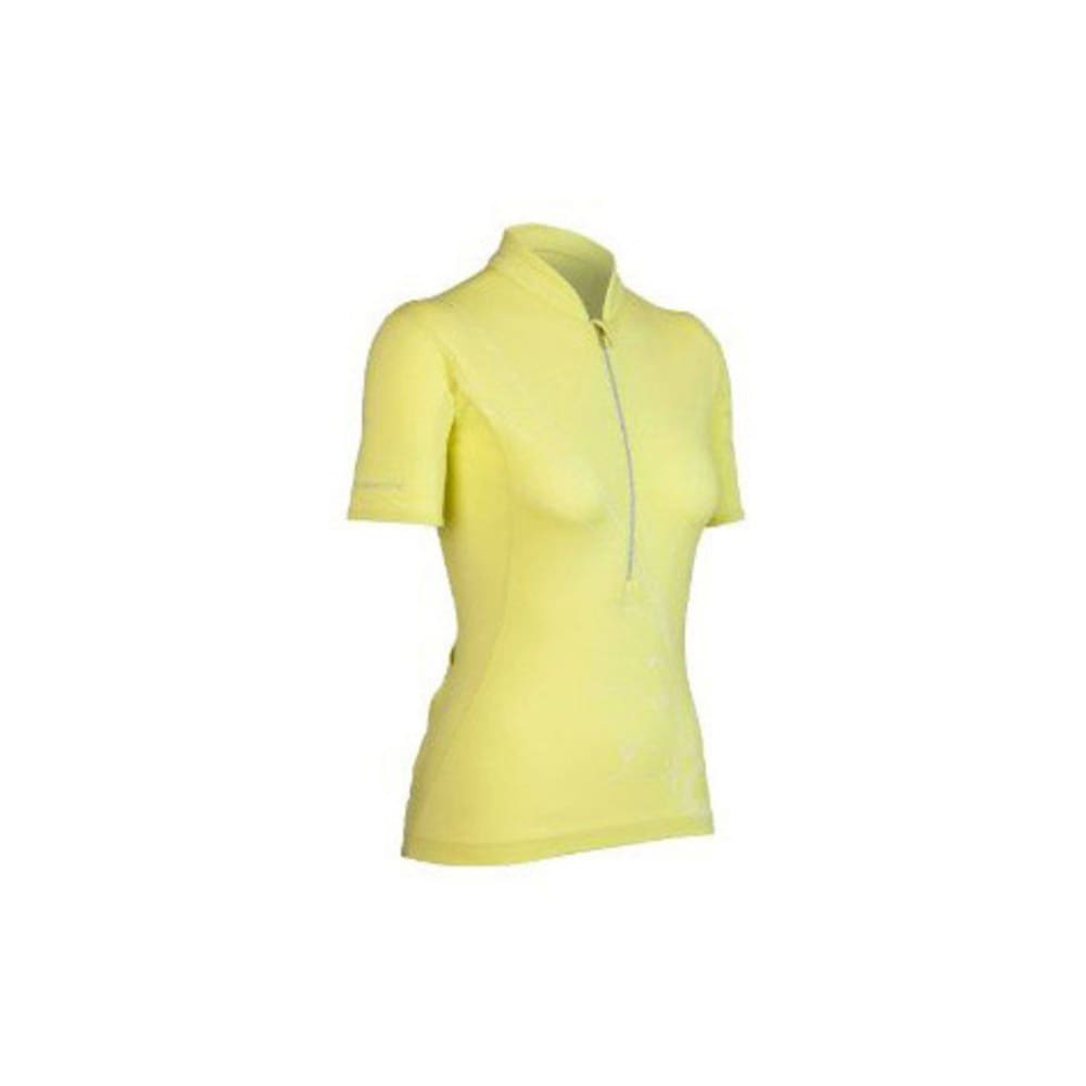 ICEBREAKER Women's Rhythm Bike Jersey, S/S - CITRINE