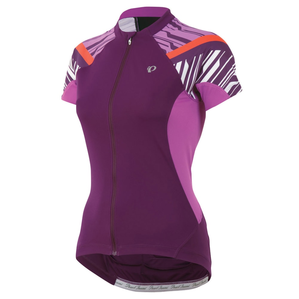 PEARL IZUMI Women's Elite Bike Jersey - DARK PURPLE