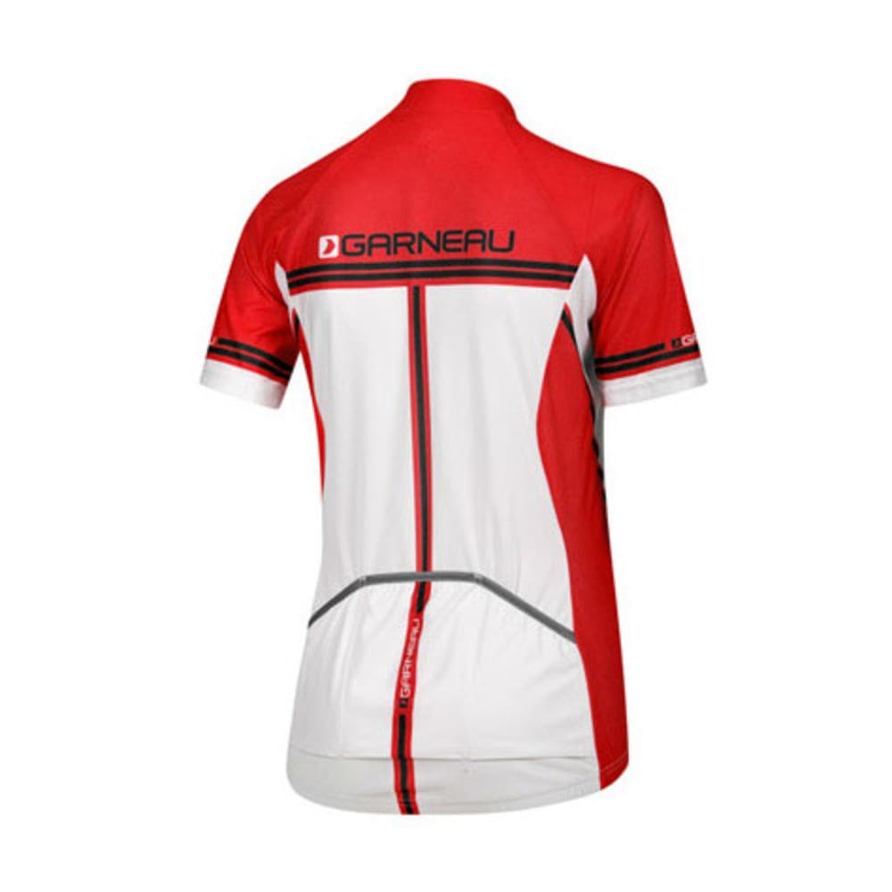 LOUIS GARNEAU Women's Equipe Bike Jersey - WHITE