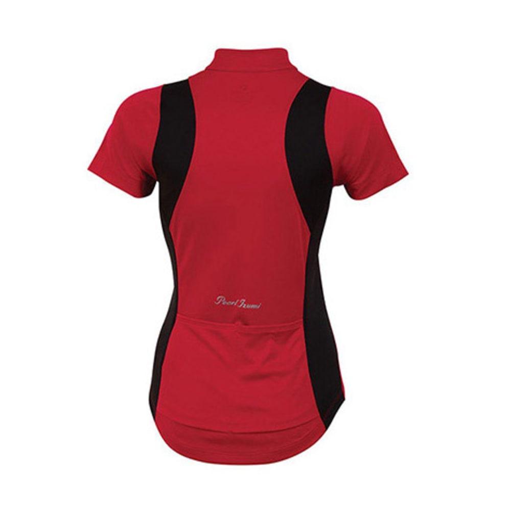 PEARL IZUMI Women's Select Bike Jersey - CRIMSON
