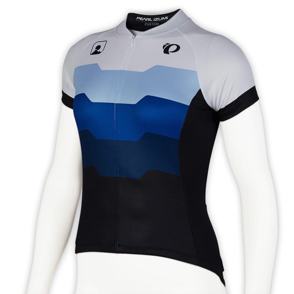 PEARL IZUMI Women's EMS Custom 1 Bike Jersey - WHITE
