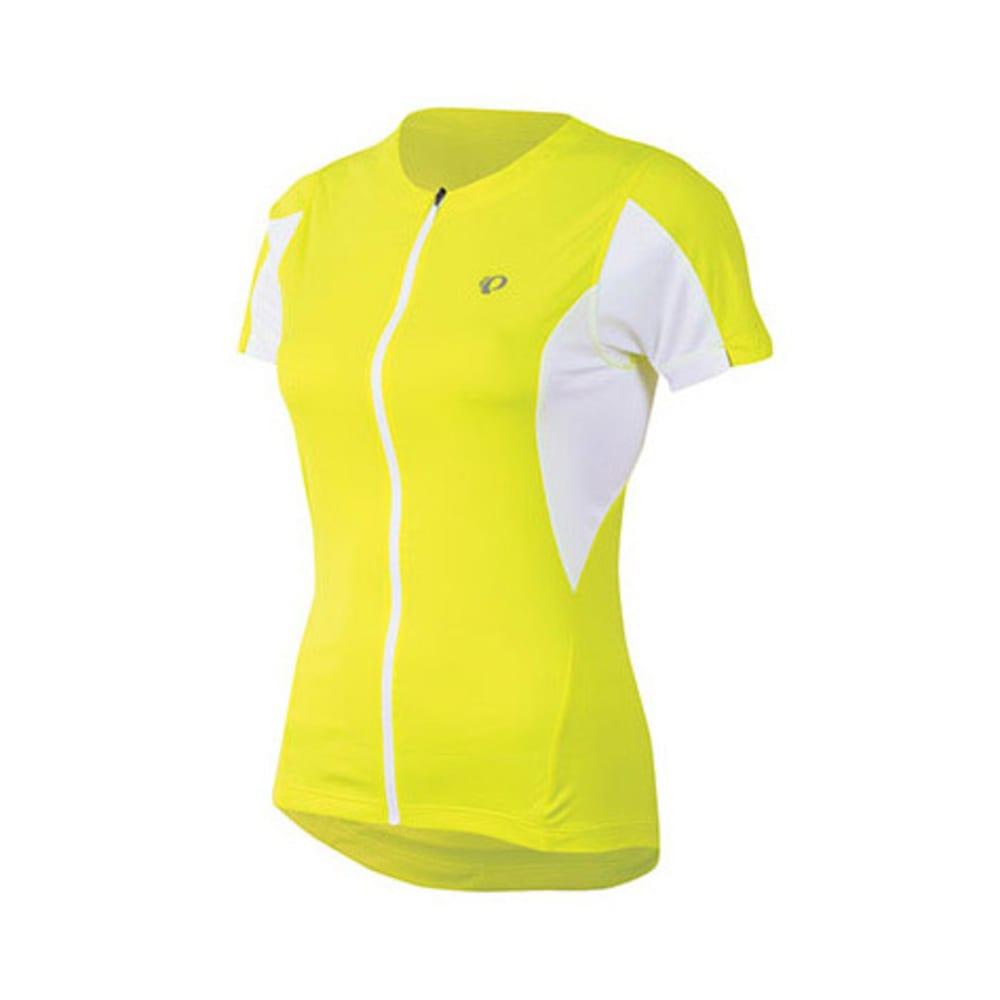 PEARL IZUMI Women's Select Bike Jersey, Screaming Yellow - SCREAMING YELLOW