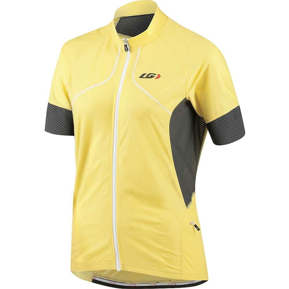LOUIS GARNEAU Women's Evans GT Bike Jersey - LEMON TONIC