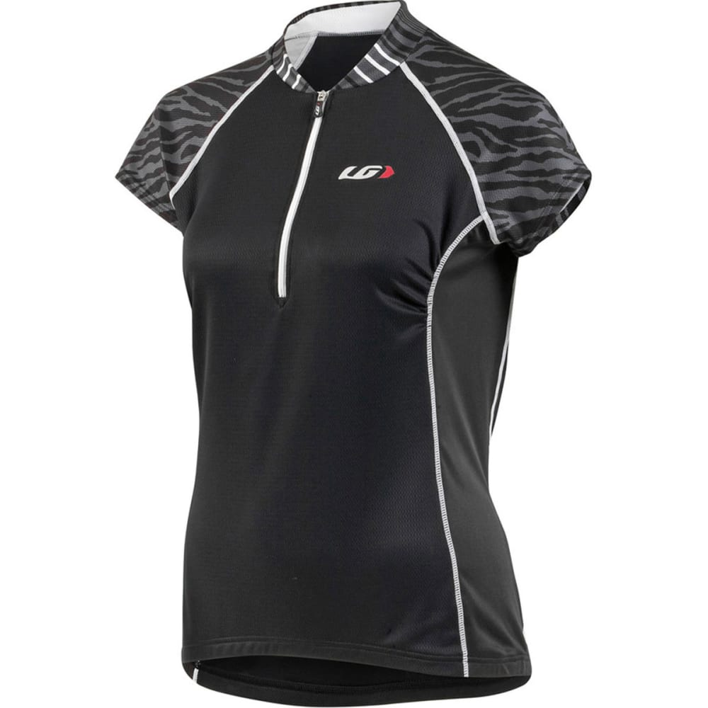 LOUIS GARNEAU Women's Astoria 2 Bike Jersey - BLACK