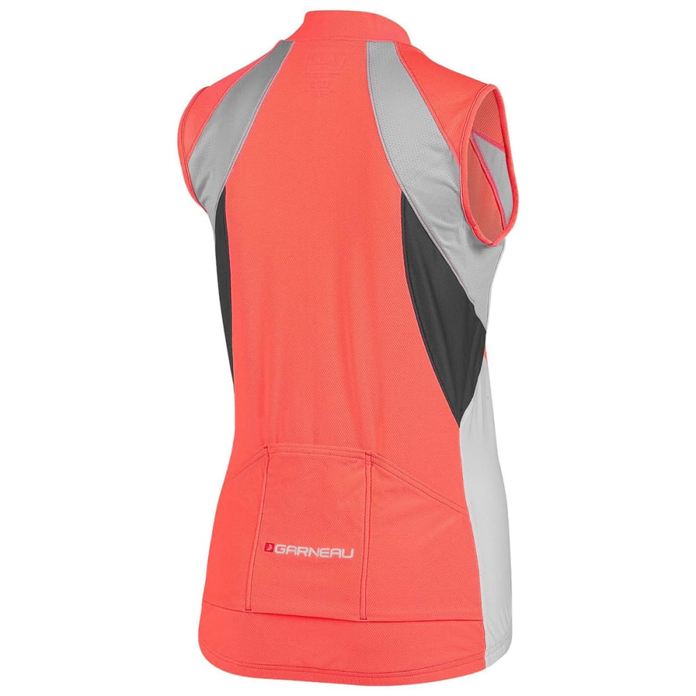 LOUIS GARNEAU Women's Breeze Vent Sleeveless Bike Jersey - CORAL