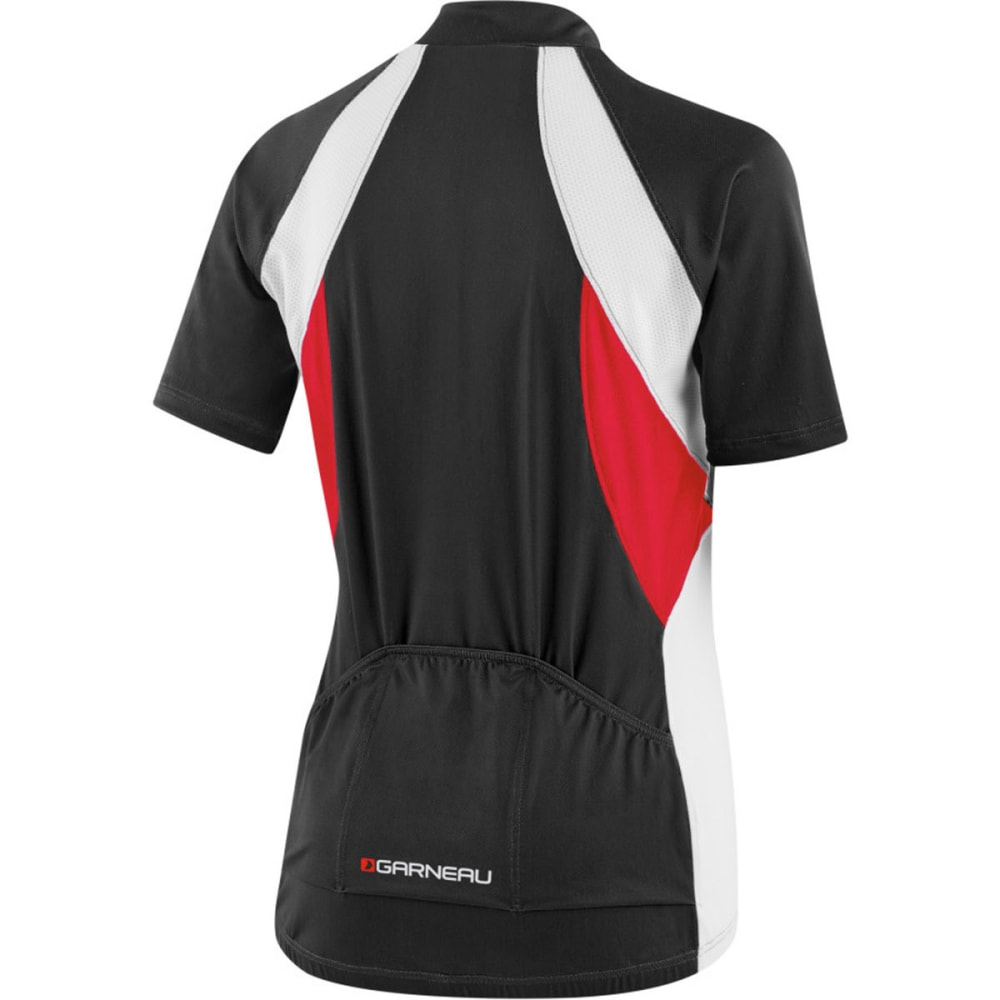 LOUIS GARNEAU Women's Breeze Vent Bike Jersey - BLACK