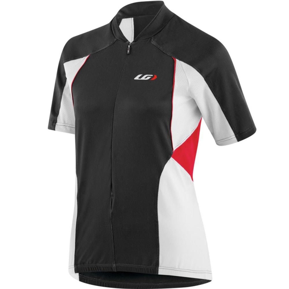 LOUIS GARNEAU Women's Breeze Vent Bike Jersey - BLACK