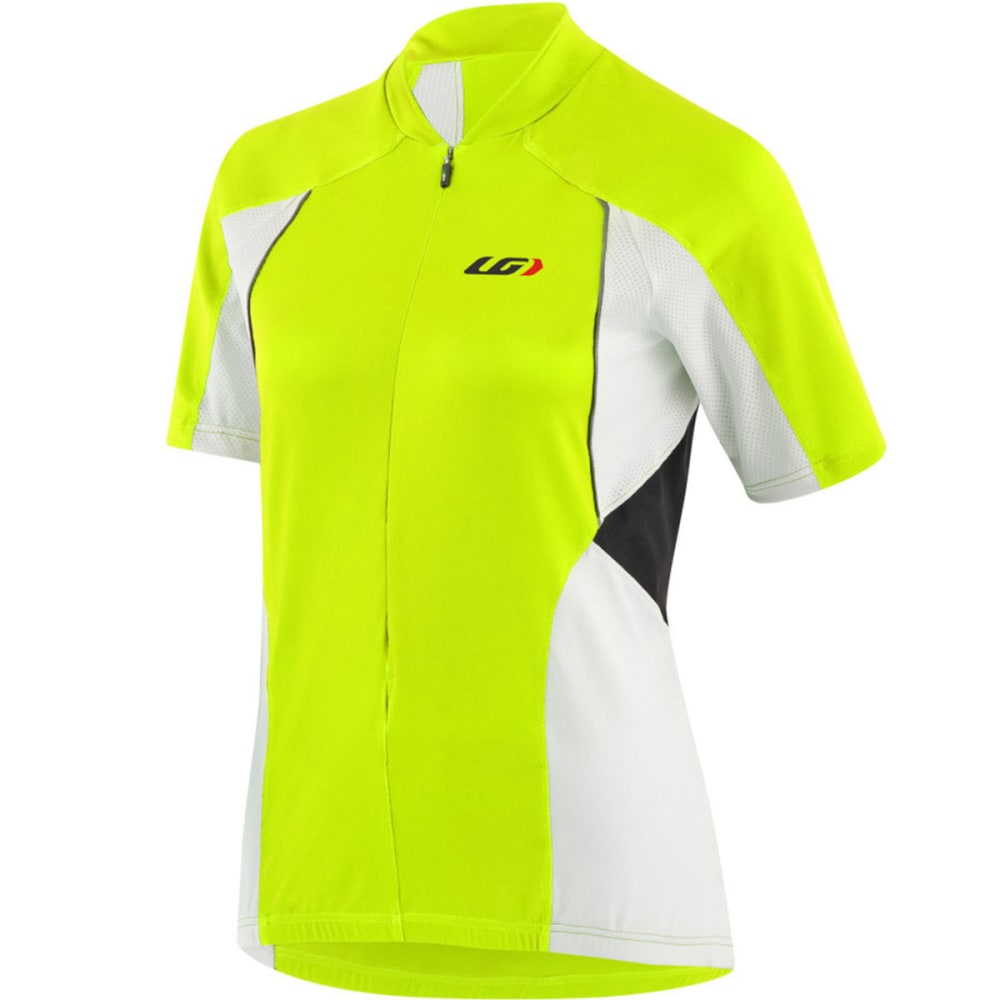 LOUIS GARNEAU Women's Breeze Vent Bike Jersey - BRIGHT YELLOW