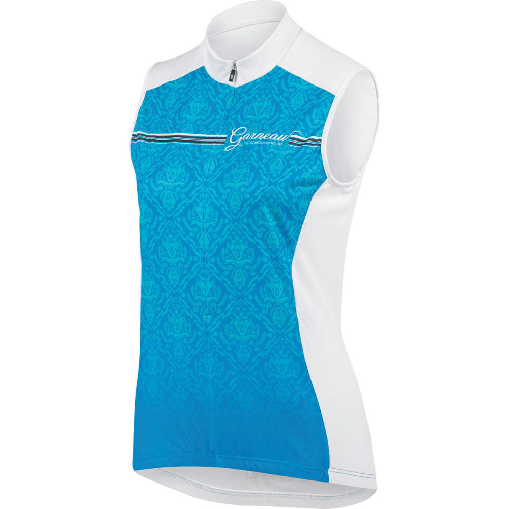 LOUIS GARNEAU Women's Tanka 2 Sleeveless Bike Jersey - BLUE/WHITE