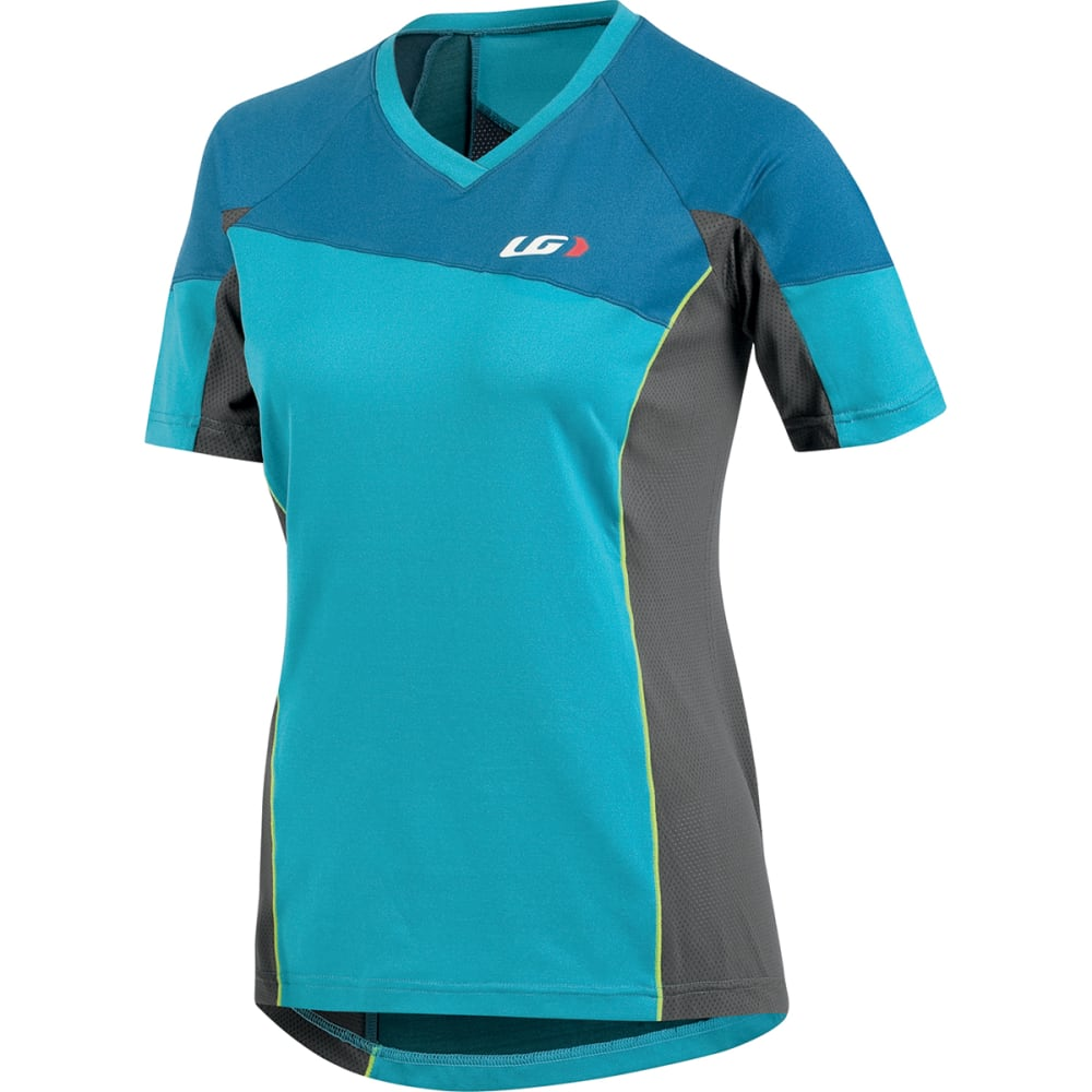 LOUIS GARNEAU Women's HTO Tee - BLUE/GREY