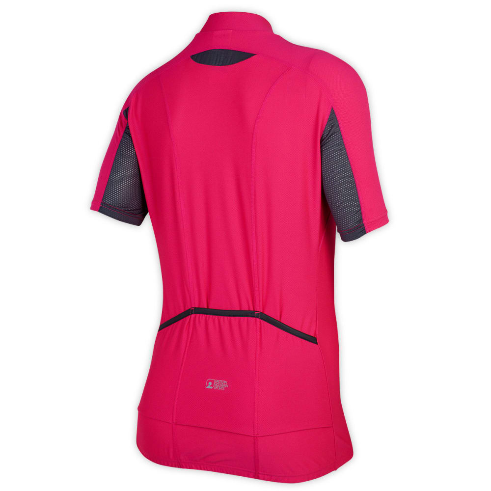 EMS Women's Velo AR Bike Jersey, Pink Glow - PINK GLOW
