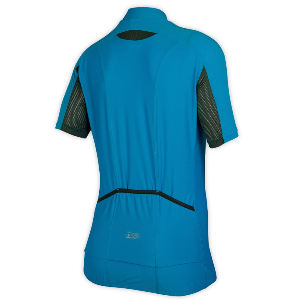 EMS Women's Velo AR Bike Jersey, Blue - BLUE