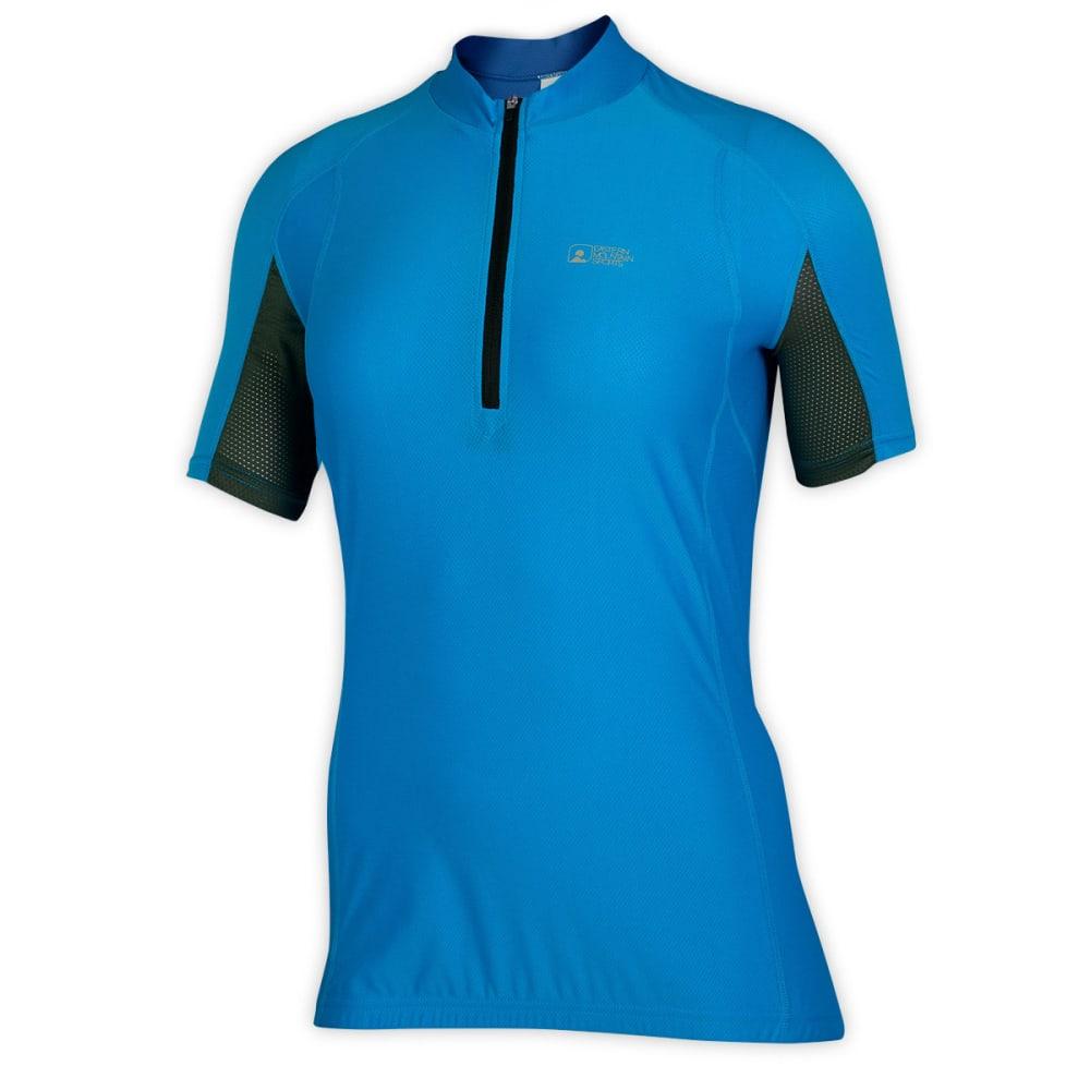 EMS® Women's Velo AR Bike Jersey, Blue - BLUE