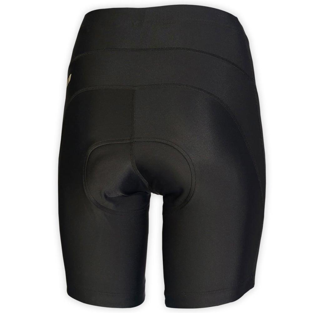 EMS® Women's Velo Bike Shorts, 8 in. - JET BLACK