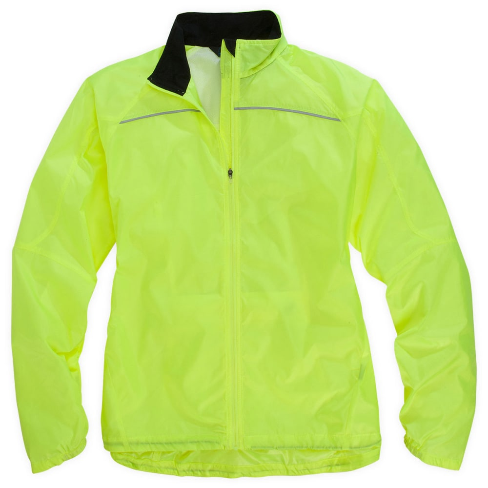 EMS® Women's Switchback Cycling Shell Jacket  - HI-VIZ EPIC