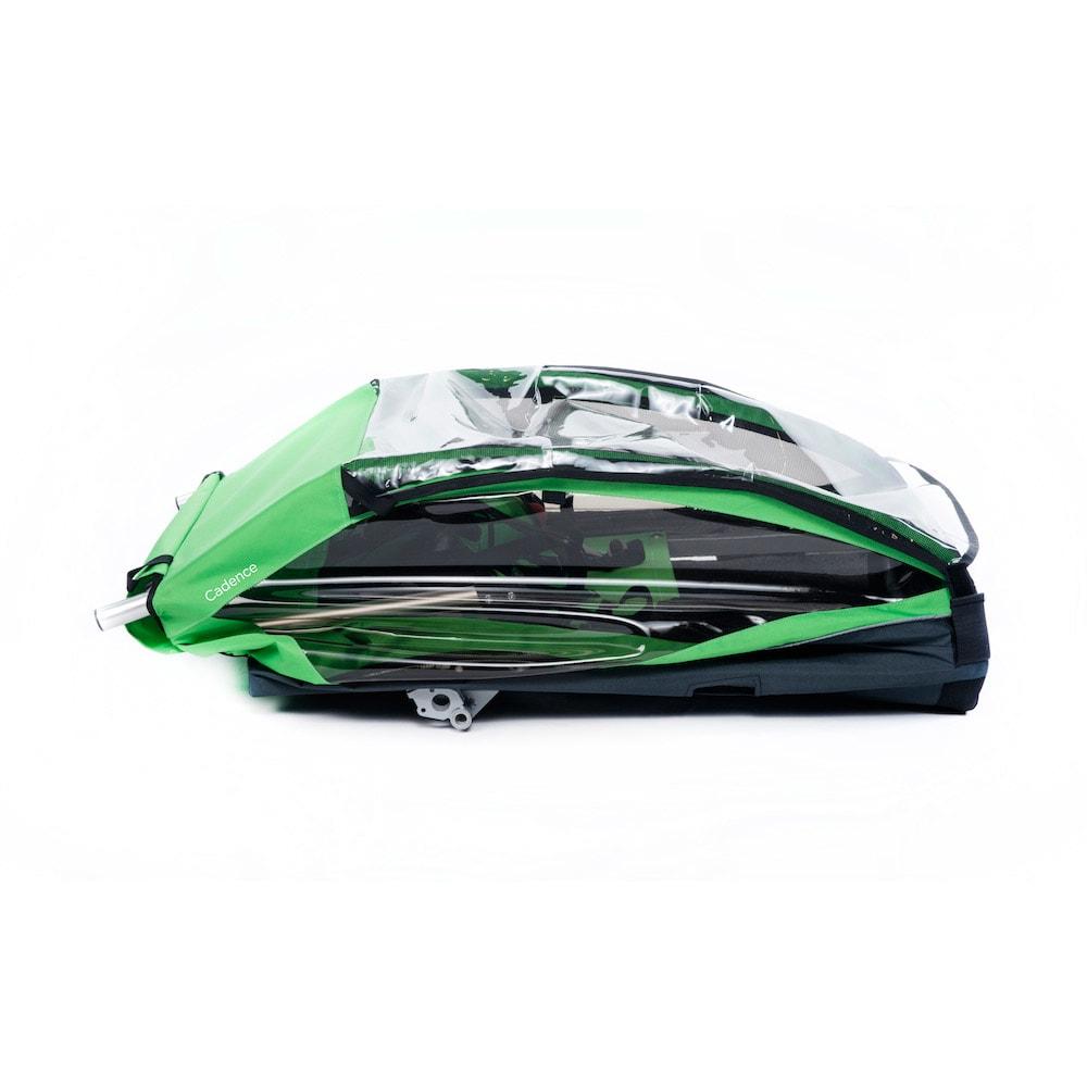 THULE Cadence Bike Trailer - GREEN/BLACK