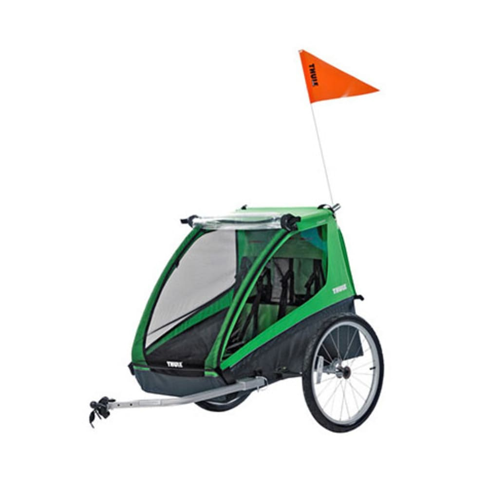 THULE Cadence Bike Trailer - GREEN/BLACK