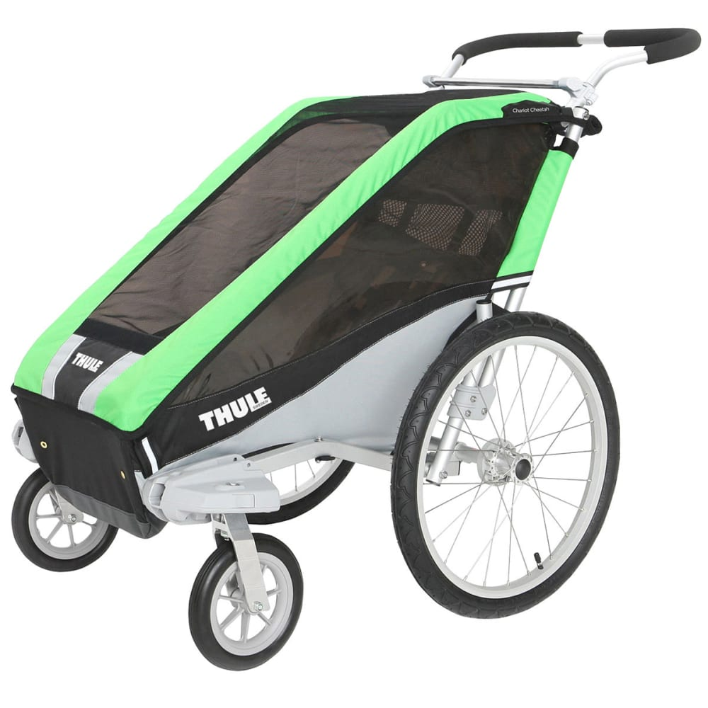 THULE Chariot Cheetah 1 Multi-Sport Trailer - GREEN